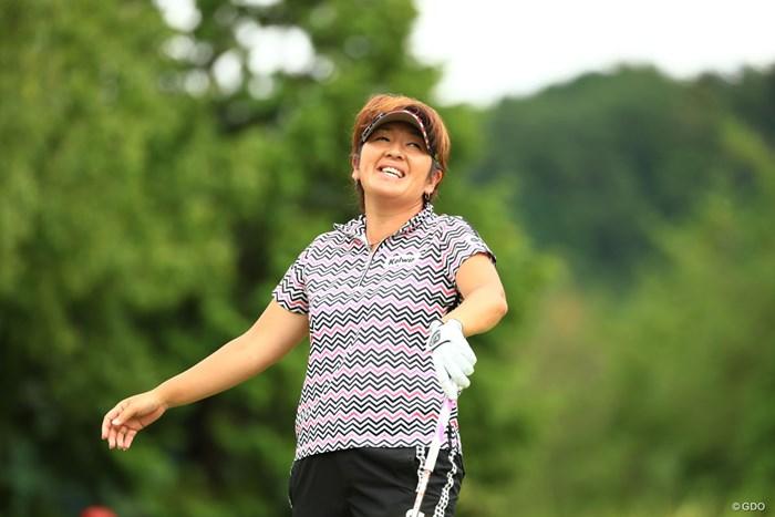病気が早く治るといいね 2018年 ゴルフ5レディス プロゴルフトーナメント 2日目 福嶋浩子