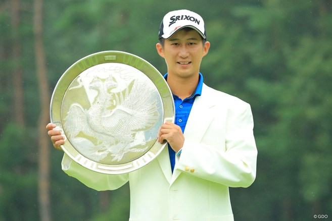 22歳の星野陸也が初優勝 富士桜で5打差の完全優勝
