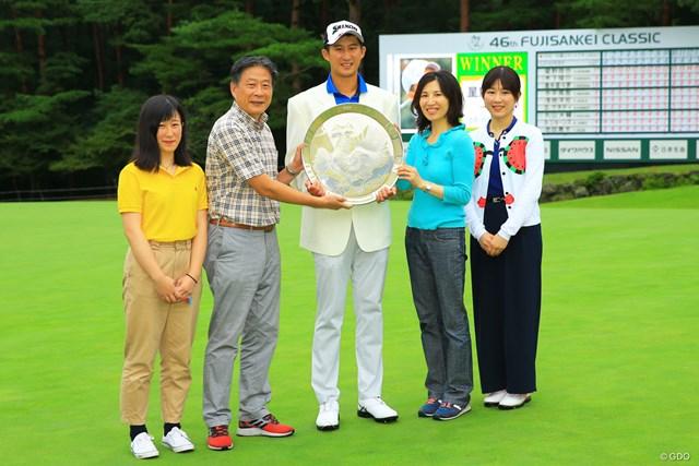 星野陸也の初優勝を喜んだ父・宏さん、母・正子さん、姉・麗香さん、妹・優佳さん