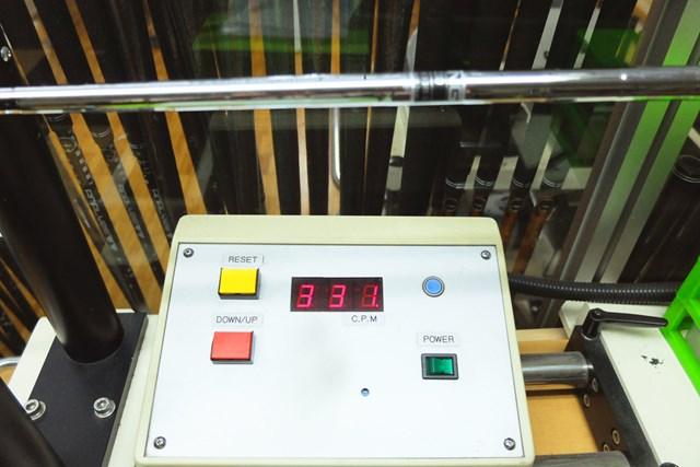 試打クラブには「モーダス3 ツアー105」が装着されており、振動数は331cpm