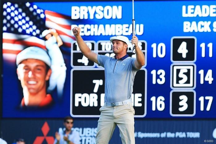 ゴルフ科学者デシャンボーが2連勝。年間王者にさらなる弾みをつけた 2018年 デルテクノロジーズ選手権 最終日 ブライソン・デシャンボー