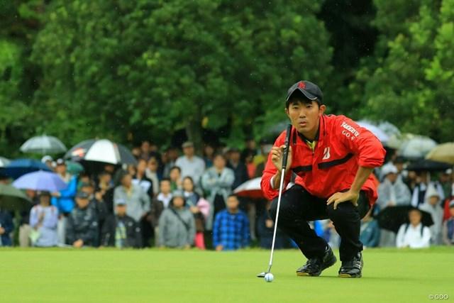 金谷拓実は2位で終えた※撮影は2017年日本オープン
