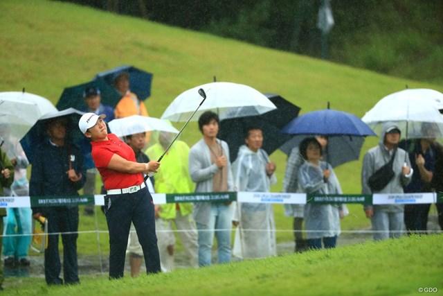 2018年 日本女子プロ選手権大会コニカミノルタ杯 最終日 申ジエ 申ジエは前週の「ゴルフ5レディス」と同じクラブセッティングでメジャー3勝目を挙げた