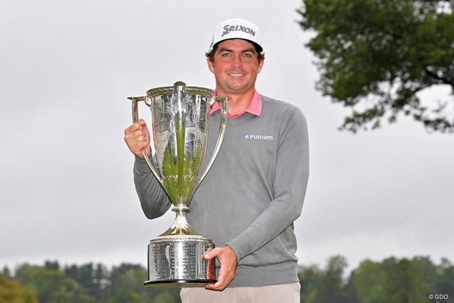 6年ぶりにツアー優勝したブラッドリー。最終戦の出場権を手にした