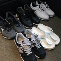 遠征に連れていくシューズはサンダルを入れて5足 川村昌弘の靴