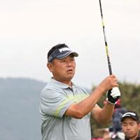 大久保博元(デーブ大久保)さんは2日目を「71」としたが、予選落ちした(提供:日本ゴルフツアー機構) 2018年 HEIWA・PGM Challenge II ~Road to CHAMPIONSHIP 2日目 デーブ大久保