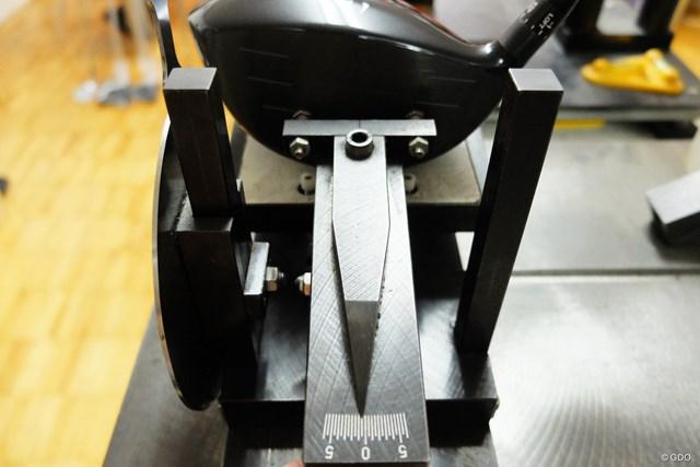 フェース角は-0.5度で、「Z585」に比べてつかまり過ぎない設計がなされている