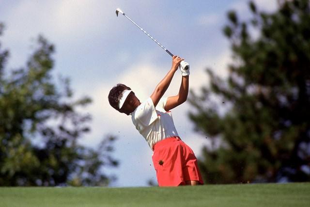 1987年には米賞金女王に輝いた。同年の全米女子オープン(Focus on Sport/Getty Images)