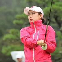 丹萌乃が首位に浮上した(提供:日本女子プロゴルフ協会) 2018年 中国新聞ちゅーピーレディースカップ 2日目 丹萌乃