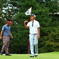 ホールインワン久しぶりに見させていただきました 2018年 アジアパシフィック選手権ダイヤモンドカップゴルフ 3日目 岩田寛