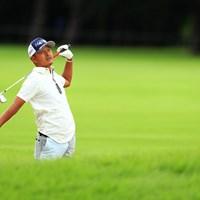 イヤーーん、ポロシャツが乱れてるわ 2018年 アジアパシフィック選手権ダイヤモンドカップゴルフ 3日目 岩田寛
