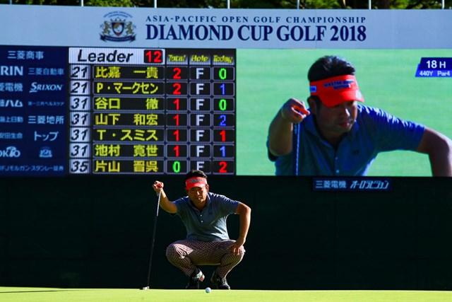 池田勇太は節目の20勝に向け単独首位で最終日を迎える
