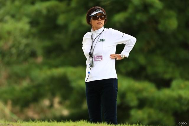 2018年 ミヤギテレビ杯ダンロップ女子オープン 最終日 競技委員 今季5度目のスコア誤記による失格が発生した国内女子ゴルフツアー