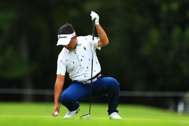 2018年 アジアパシフィック選手権ダイヤモンドカップゴルフ 最終日 久保谷健一 腰痛はまだまだ続きそう
