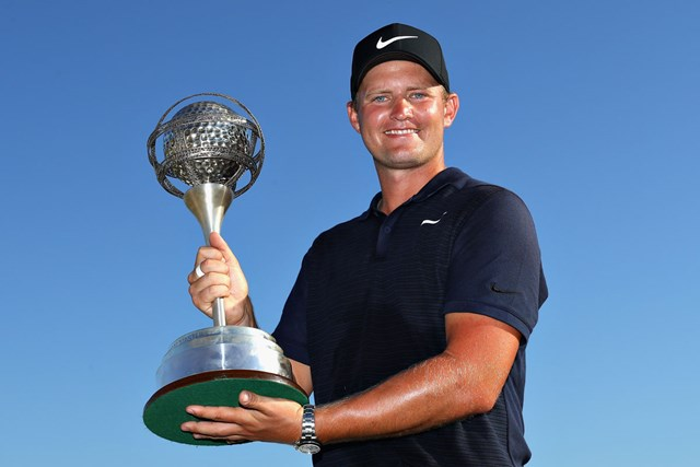 逆転で7シーズンぶりの優勝を飾ったトム・ルイス(Warren Little/Getty Images)