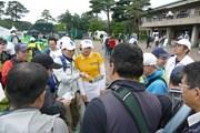 2018年 日本女子オープンゴルフ選手権競技 事前 チョン・インジ