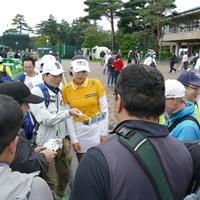 開幕前日はラウンドせずに引き上げたチョン・インジ 2018年 日本女子オープンゴルフ選手権競技 事前 チョン・インジ