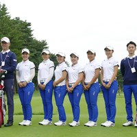 日本一を決めるプロの大会でも、一大勢力となりつつあるナショナルチーム 2018年 日本女子オープンゴルフ選手権競技 事前 ナショナルチーム