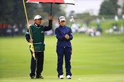 2018年 日本女子オープンゴルフ選手権競技 初日 岡山絵里