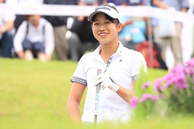 2018年 フンドーキンレディース 2日目 吉本ここね 吉本ここねが首位で最終日に臨む(提供:日本女子プロゴルフ協会)