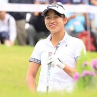 吉本ここねが首位で最終日に臨む(提供:日本女子プロゴルフ協会) 2018年 フンドーキンレディース 2日目 吉本ここね