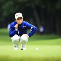 アマチュア強し 2018年 日本女子オープンゴルフ選手権競技 初日 西村優菜