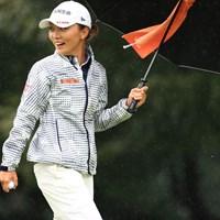 なが~いバーディパットが決まっちゃった 2018年 日本女子オープンゴルフ選手権競技 初日 テレサ・ルー