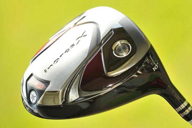 新製品レポート「ヤマハ インプレスX D201 ドライバー」NO.4 ボールのつかまりがいいように、ヒール側にウエイトを配分している