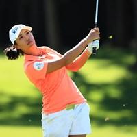 メジャー大会を単独首位で折り返したフェービー・ヤオ 2018年 日本女子オープンゴルフ選手権競技 2日目 フェービー・ヤオ