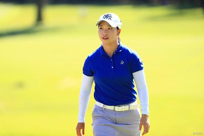 5位タイに浮上したアマチュアの後藤未有。首位争いに名乗りを上げた 2018年 日本女子オープンゴルフ選手権競技 2日目 後藤未有