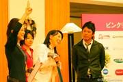 ゴルフネットワーク ピンクリボン チャリティトーク2009 東尾理子