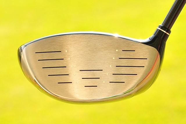 新製品レポート「キャロウェイ レガシー ドライバー TYPE S」NO.3 フェース形状はキャロウェイのクラブによくある卵型