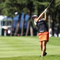ツアー出場3戦目の丹萌乃が通算7アンダーで決勝ラウンドに進んだ 2018年 日本女子オープンゴルフ選手権競技 2日目 丹萌乃