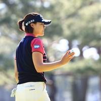 みんな期待してるよ 2018年 日本女子オープンゴルフ選手権競技 2日目 チョン・インジ