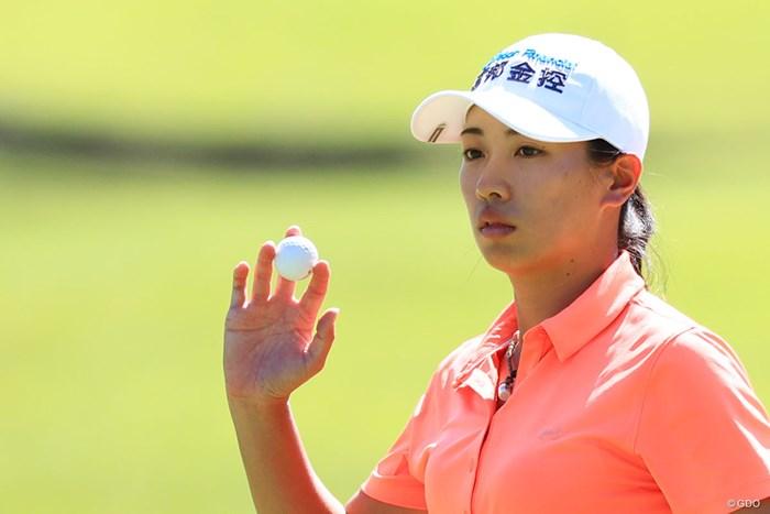 単独トップに立つフェービー 2018年 日本女子オープンゴルフ選手権競技 2日目 フェービー・ヤオ