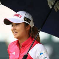 ナイスゲームだったもんね 2018年 日本女子オープンゴルフ選手権競技 3日目 森田遥