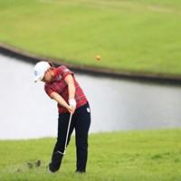 オレンジボールはトレードマーク 2018年 日本女子オープンゴルフ選手権競技 3日目 宮里美香