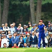 大舞台には慣れてるだろうけど・・・ 2018年 日本女子オープンゴルフ選手権競技 3日目 安田祐香