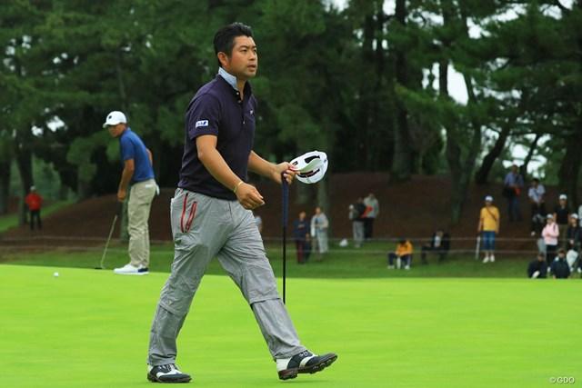 2週連続優勝を逃した池田勇太は不運を嘆いた