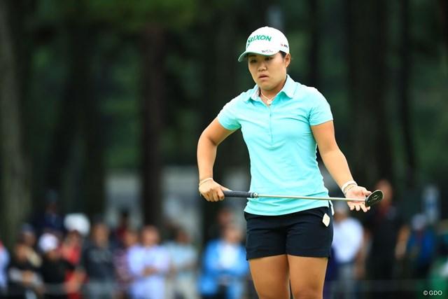 2018年 日本女子オープンゴルフ選手権競技 最終日 畑岡奈紗 畑岡奈紗はグリーン上で苦しめられ3連覇はならなかった