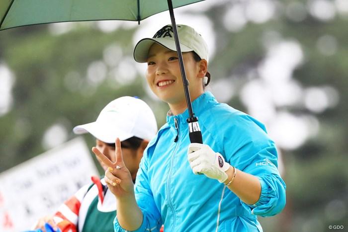 ベストアマ獲得8位タイ、たいしたもんやね 2018年 日本女子オープンゴルフ選手権競技 最終日 後藤未有