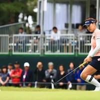 入れ! 2018年 日本女子オープンゴルフ選手権競技 最終日 ユ・ソヨン
