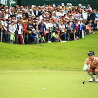 最終18番 2018年 日本女子オープンゴルフ選手権競技 最終日 ユ・ソヨン