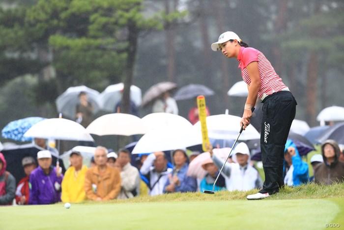 残念ながら見せ場を作れなかった 2018年 日本女子オープンゴルフ選手権競技 最終日 フェービー・ヤオ