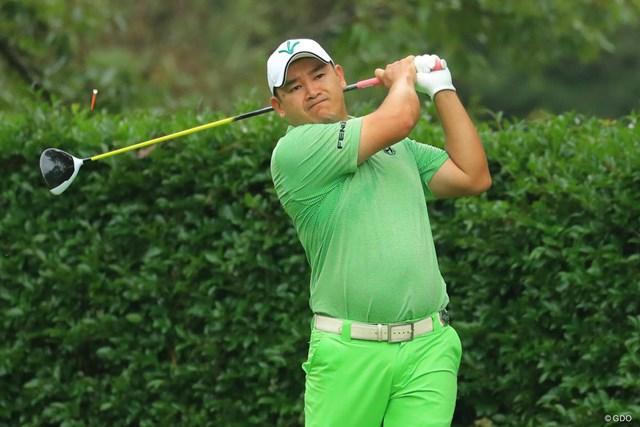 アンジェロ・キューは複数メーカーのクラブで日本ツアー初勝利を挙げた