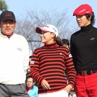 3ツアーズでは、石川遼、横峯さくらの若い2人を圧倒した尾崎健夫 2009 プレーヤーズラウンジ 尾崎健夫