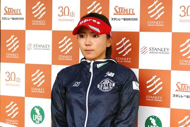 有村智恵は最多タイになる大会4勝目を狙う