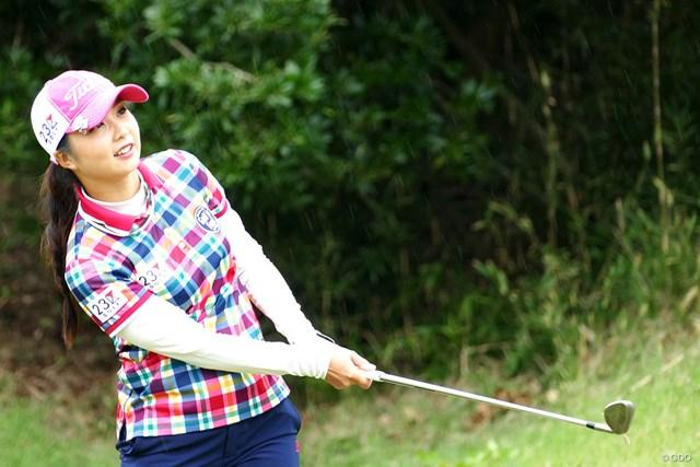 2018年 スタンレーレディスゴルフトーナメント 事前 菊地絵理香 賞金ランク上位陣不在の大会で菊地絵理香は差を詰められるか