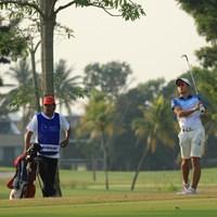 アジア大会金メダルの中島啓太は3アンダー10位発進 2018年 アジアパシフィックアマチュアゴルフ選手権 初日 中島啓太
