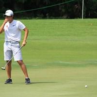 大西魁斗は1打届かず予選落ち 2018年 アジアパシフィックアマチュアゴルフ選手権 2日目 大西魁斗